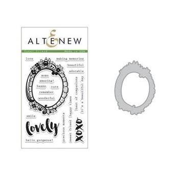 Altenew SWEET FRIEND Clear Stamp and Die Set ALT5238