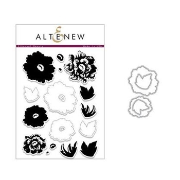 Altenew ETHEREAL BEAUTY Clear Stamp and Die Set ALT2440
