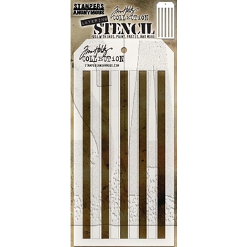 RESERVE Tim Holtz Layering Stencil SHIFTER STRIPES THS108