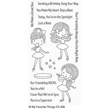 My Favorite Things FRIENDSHIP ROCKS Clear Stamps CS326