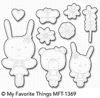 My Favorite Things TUTU TRIO Die-Namics MFT1369