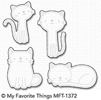 My Favorite Things CUTE CATS Die-Namics MFT1372