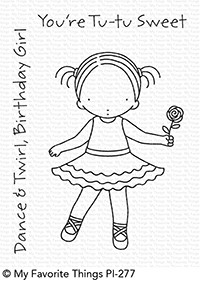 Pure Innocence TU-TU SWEET Clear Stamps MFT PI277