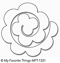My Favorite Things ROLLED ROSE Die-Namics MFT1321