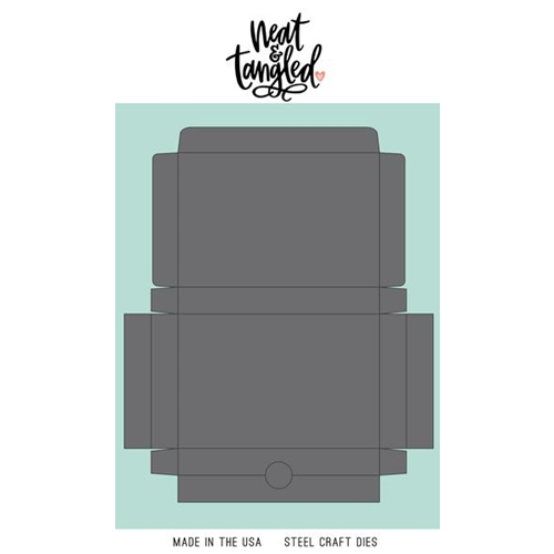 Neat and Tangled GIFT CARD BOX Die NAT407 Preview Image