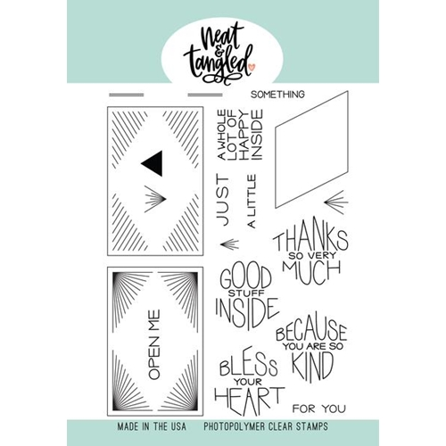 Neat and Tangled THANKS SO MUCH Clear Stamps NAT410 Preview Image