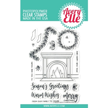 Avery Elle Clear Stamps FIRESIDE ST-18-25