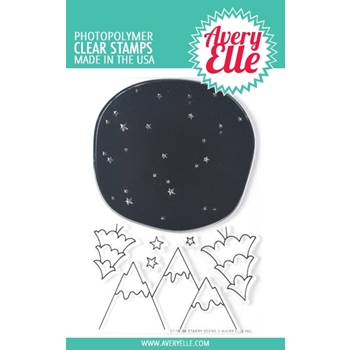 Avery Elle Clear Stamps STARRY SCENE ST-18-36