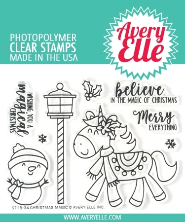 Avery Elle Clear Stamps CHRISTMAS MAGIC ST-18-34 Preview Image