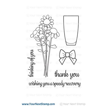Your Next Stamp FLOWER BOUQUET Clear cyns660