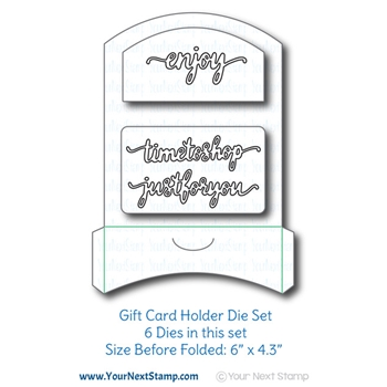 Your Next Die GIFT CARD HOLDER ynsd773