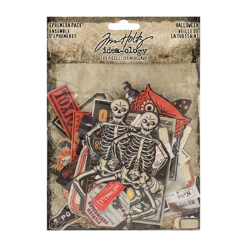 RESERVE Tim Holtz Idea-ology Ephemera Pack HALLOWEEN th93713