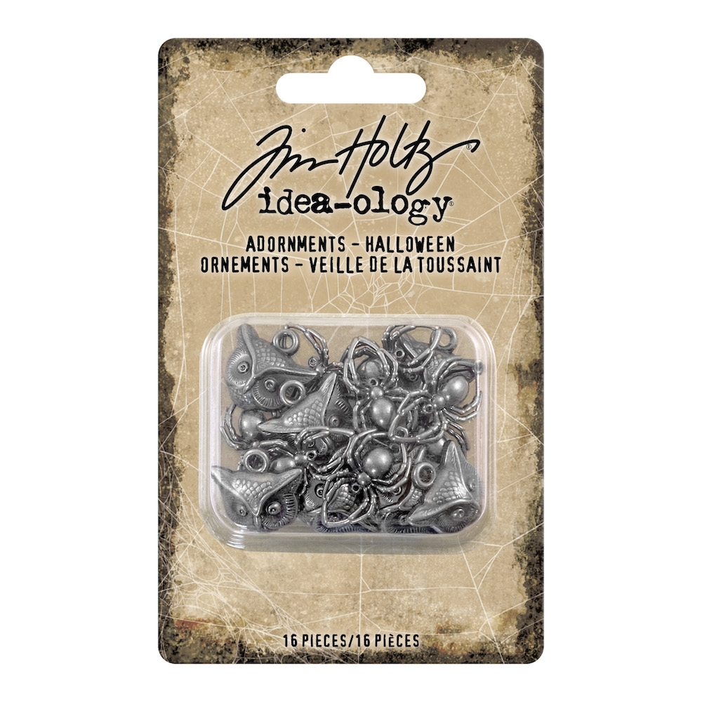 Tim Holtz Idea-ology HALLOWEEN Adornments th93717 zoom image
