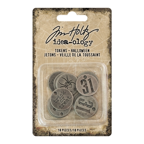 Tim Holtz Idea-ology HALLOWEEN Tokens th93721 Preview Image