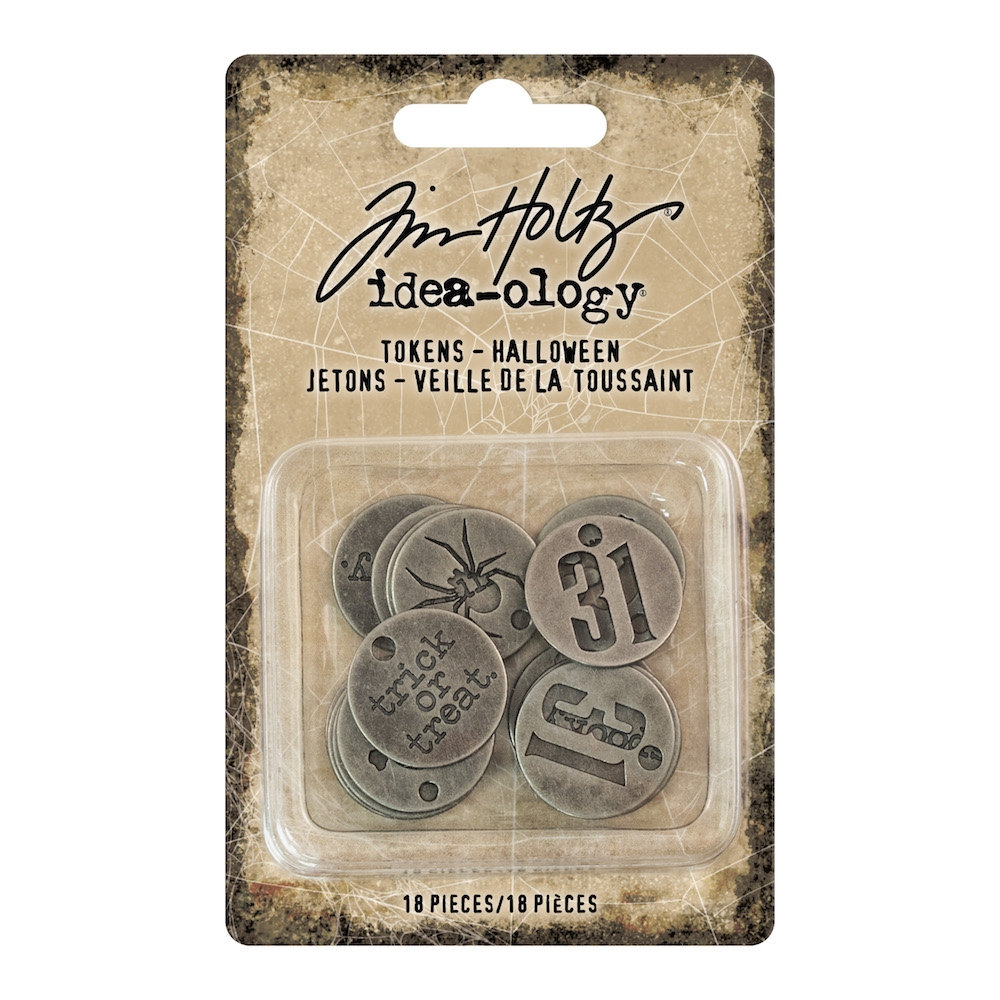 Tim Holtz Idea-ology HALLOWEEN Tokens th93721 zoom image