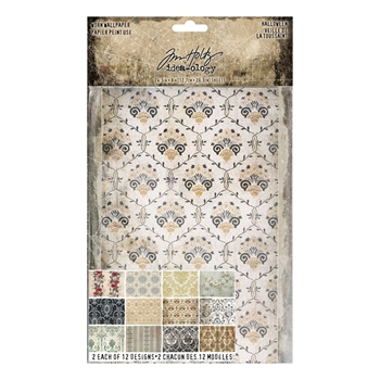 RESERVE Tim Holtz Idea-ology HALLOWEEN Worn Wallpaper th93724