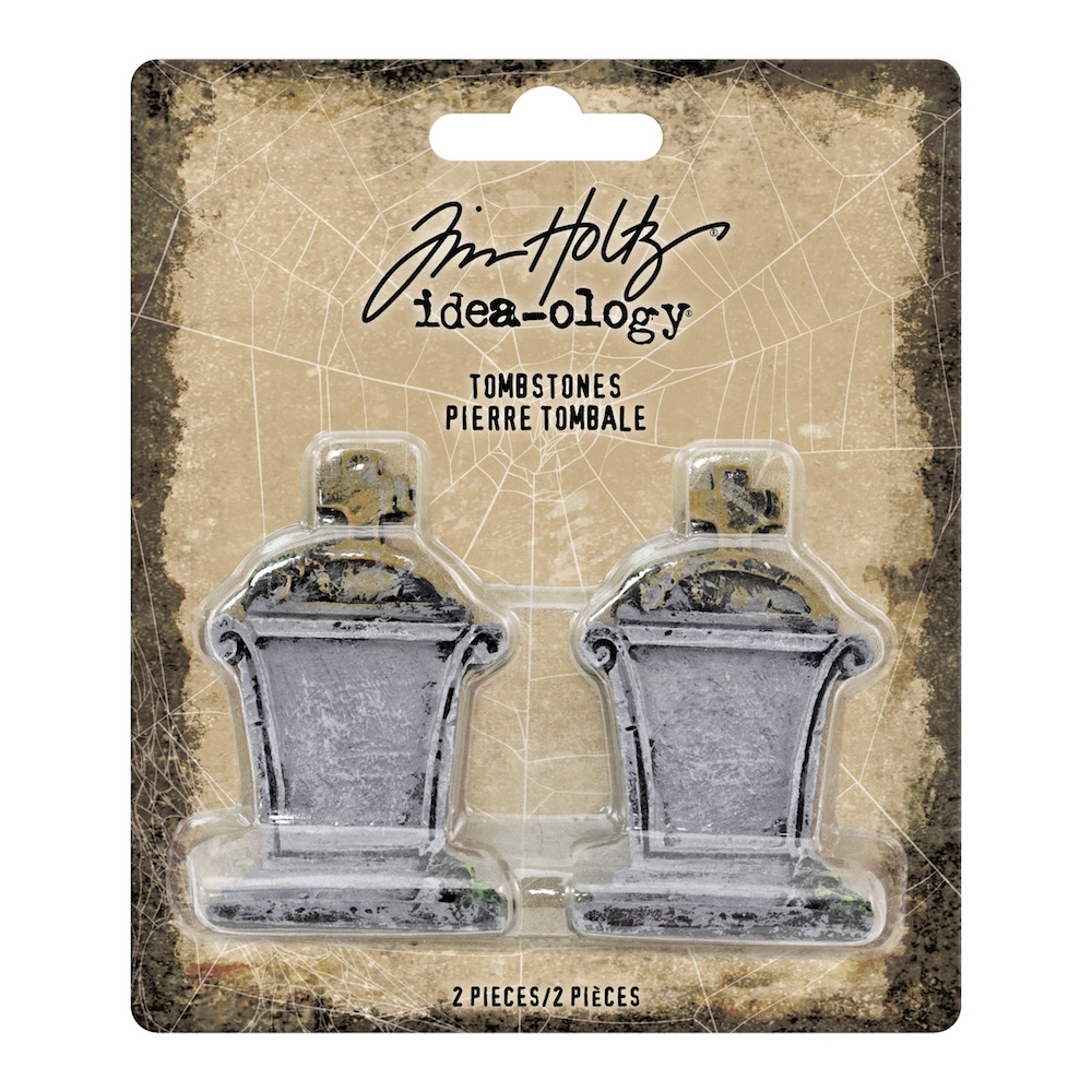 Tim Holtz Idea-ology TOMBSTONES th93736 zoom image