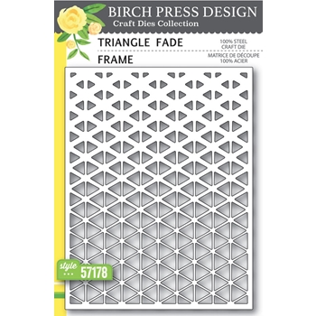 Birch Press Design TRIANGLE FADE FRAME Craft Dies 57178