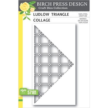 Birch Press Design LUDLOW TRIANGLE COLLAGE Craft Dies 57181