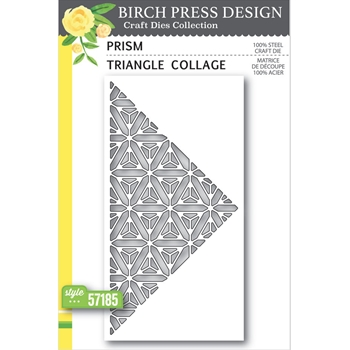 Birch Press Design PRISM TRIANGLE COLLAGE Craft Dies 57185