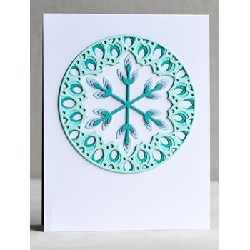 Birch Press Design ISSA SNOWFLAKE LAYER SET Craft Dies 56082