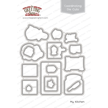The Greeting Farm MY KITCHEN Coordinating Die Cuts TGF427