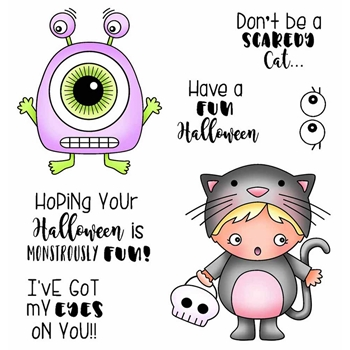 Darcie's MONSTROUSLY FUN Clear Stamp Set pol402