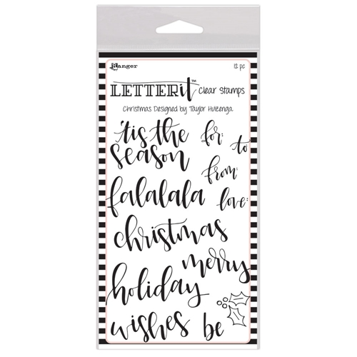 Ranger CHRISTMAS Letter It Stamp Set lec63087 Preview Image