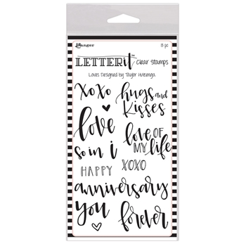 Ranger LOVES Letter It Stamp Set lec63117