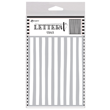 Ranger ORGANIC STRIPES Letter It Stencil let63049