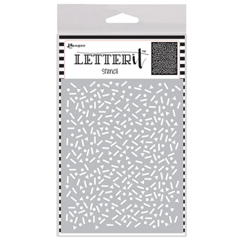 Ranger PARTY TIME Letter It Stencil let63056