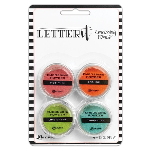 Ranger BRIGHTS EMBOSSING POWDER SET Letter It lep62912 Preview Image