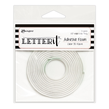 Ranger CLEAR Letter It Adhesive Foam lea63292