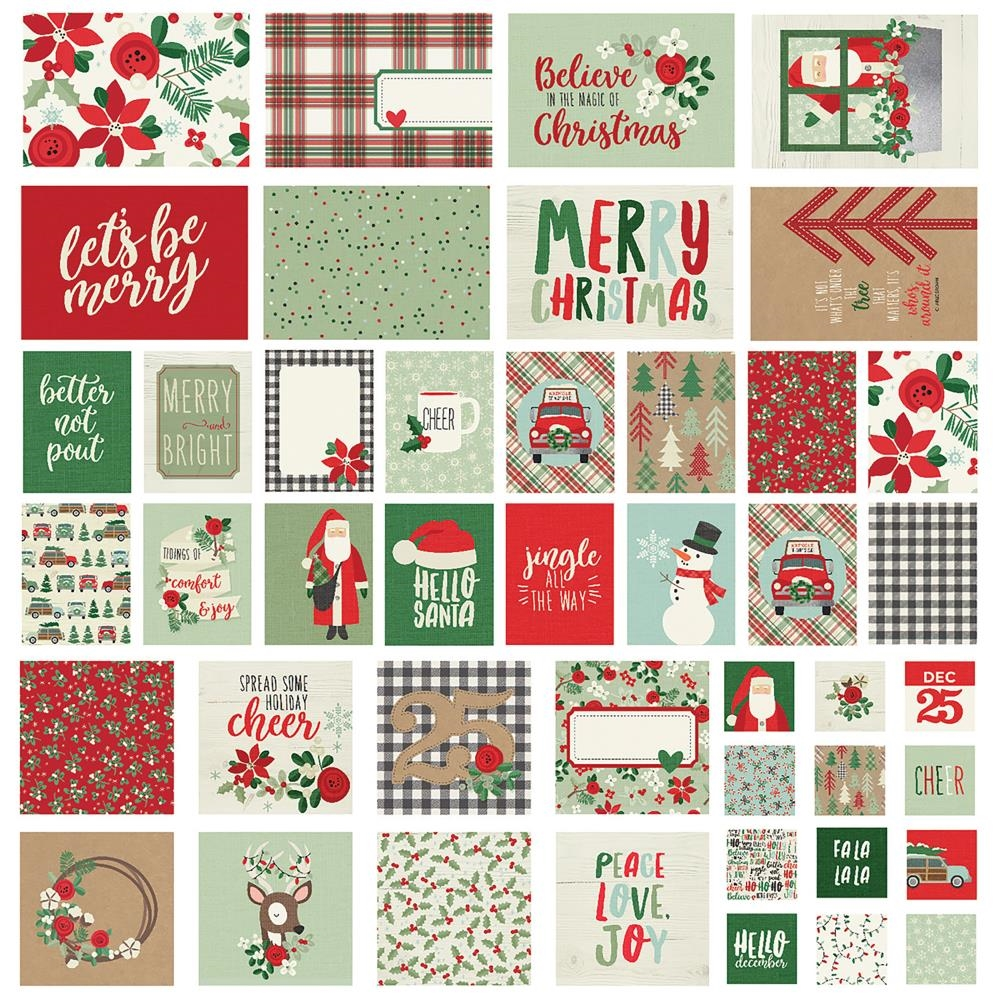 Simple Stories MERRY AND BRIGHT Snap Cards 10327 zoom image