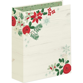 Simple Stories MERRY AND BRIGHT Binder 10328