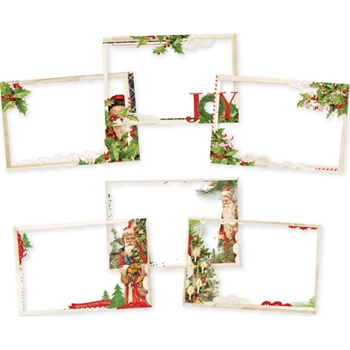 Simple Stories VINTAGE CHRISTMAS Transparencies 10354