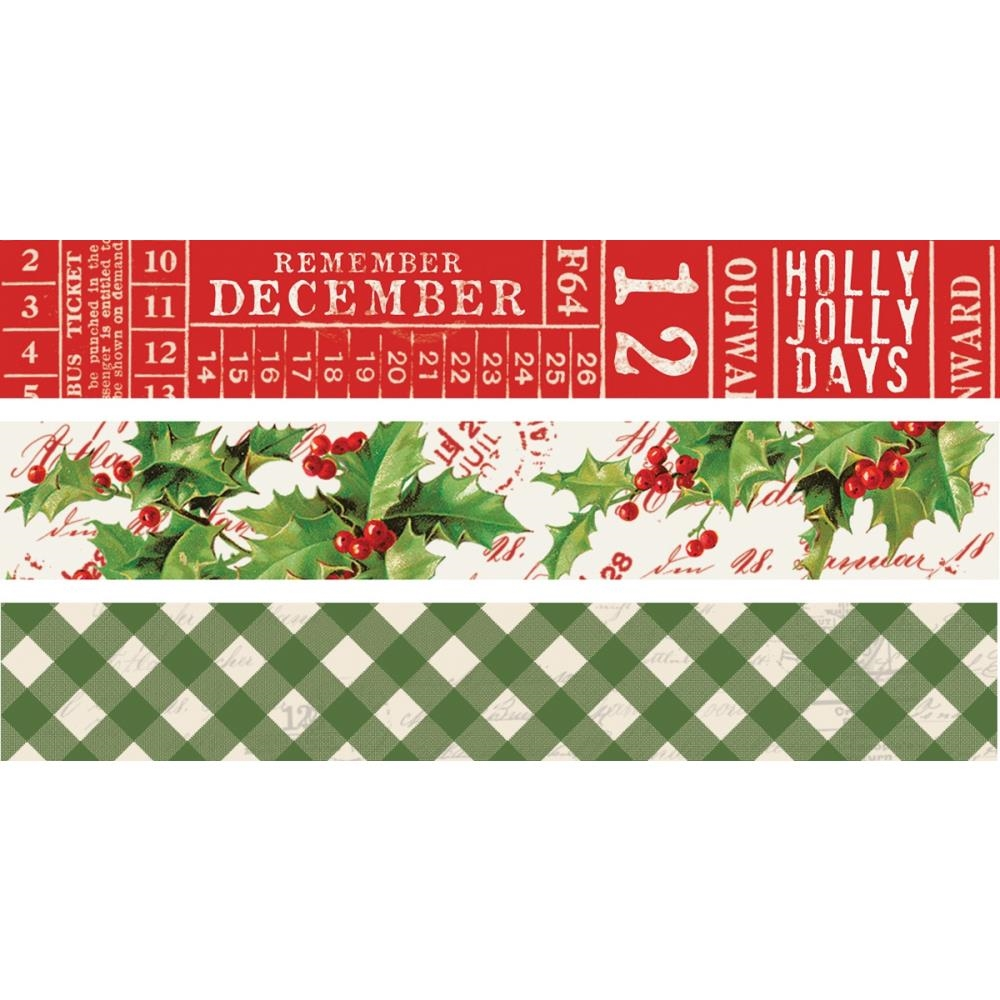 Simple Stories VINTAGE CHRISTMAS Washi Tape 10355 zoom image