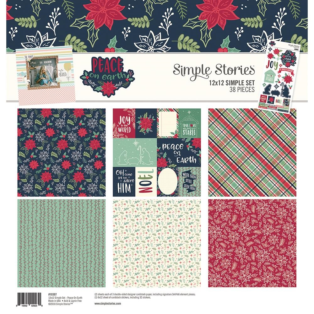 Simple Stories PEACE ON EARTH 12 x 12 Collection Kit 10397 zoom image