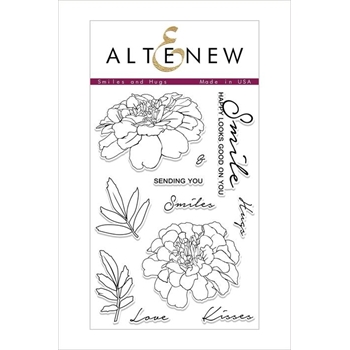 Altenew SMILES AND HUGS Clear Stamps ALT2492