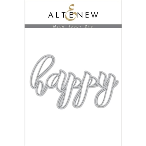 Altenew MEGA HAPPY Die ALT2489 Preview Image