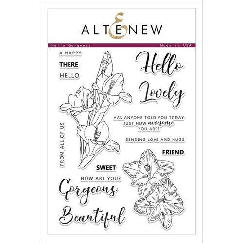 Altenew HELLO GORGEOUS Clear Stamps ALT2482 Preview Image