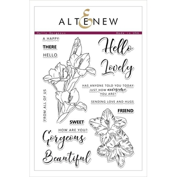 Altenew HELLO GORGEOUS Clear Stamps ALT2482