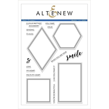 Altenew GEO FRAMES Clear Stamps ALT2476