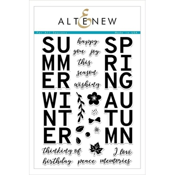 Altenew FOR ALL SEASONS Clear Stamps ALT2475