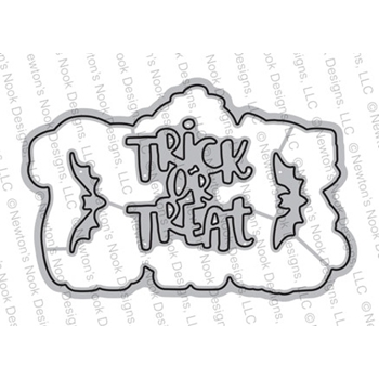 Newton's Nook Designs HALLOWEEN TRIO Dies NN1808D04