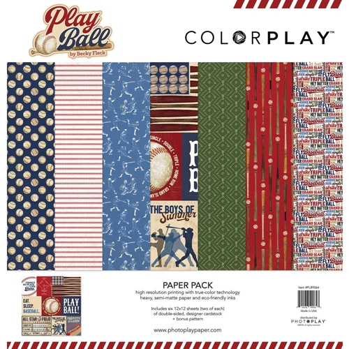 PhotoPlay PLAY BALL 12 x 12 Collection Pack plb9064 Preview Image