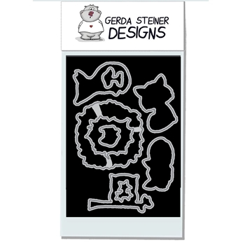 Gerda Steiner Designs FOXES Die Set gsd644die