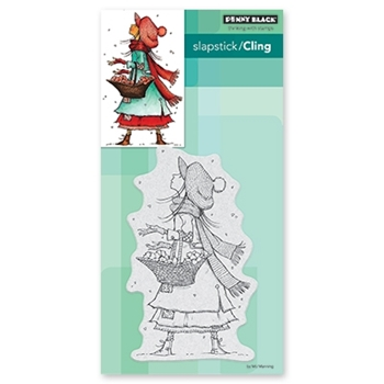 Penny Black Cling Stamp CHRISTMAS WISHES 40-651