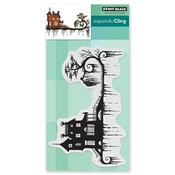 Penny Black Cling Stamp DARK NIGHT 40-623
