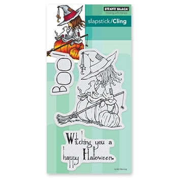 Penny Black Cling Stamps WITCHING YOU 40-620